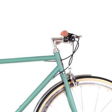 6ku odyssey 8spd city bike silverlake green