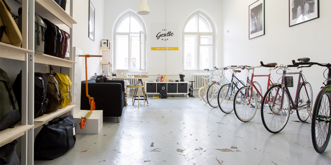 the gentle ride showroom