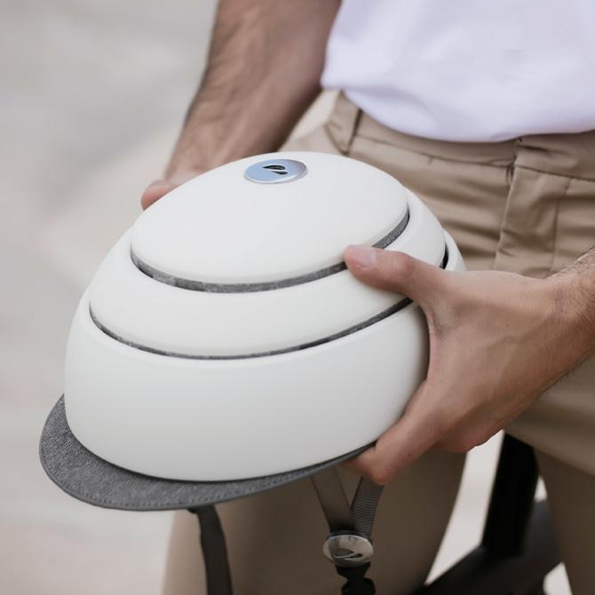 closca fuga helmet white