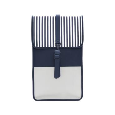 rains backpack ltd distorted stripes