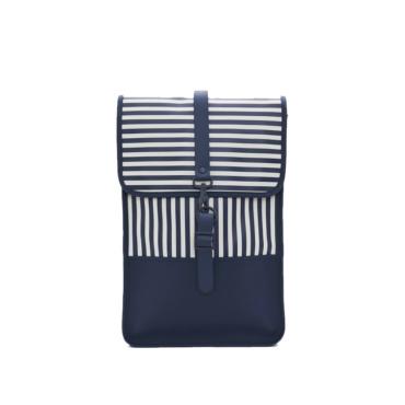 rains backpack mini ltd distorted stripes