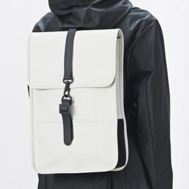 rains backpack mini white