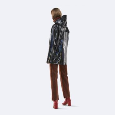 rains holographic jacket black