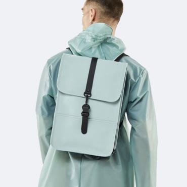 rains backpack mini dusty mint