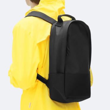 rains city backpack black
