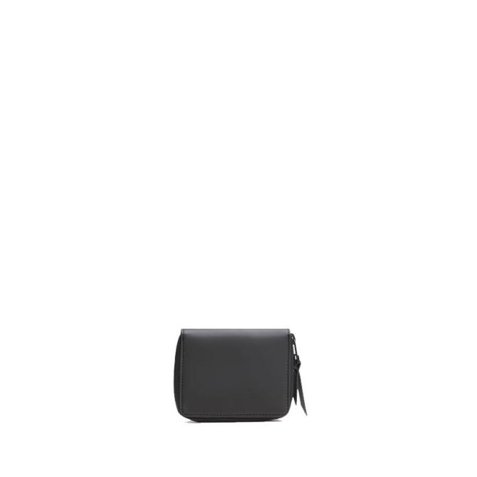 rains small wallet black