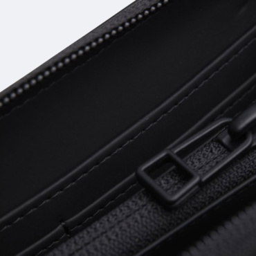 rains wallet black