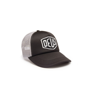 deus baylands trucker black grey