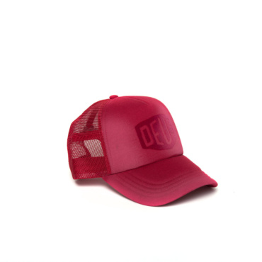 deus sunny shield trucker burnt red