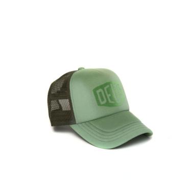 deus sunny shield trucker moss green