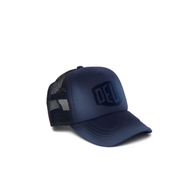 deus sunny shield trucker navy