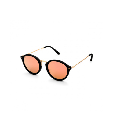 kapten & son sunglasses maui black peach mirrored