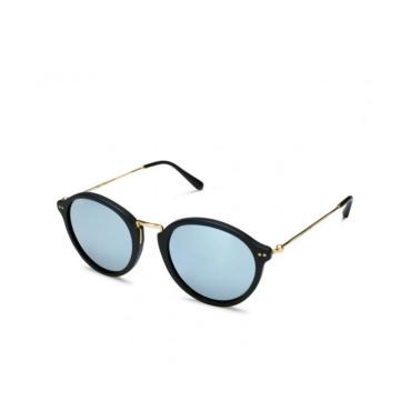 kapten & son sunglasses maui matt black blue mirrored