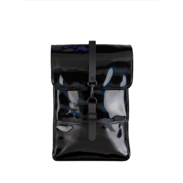 rains holographic backpack mini black