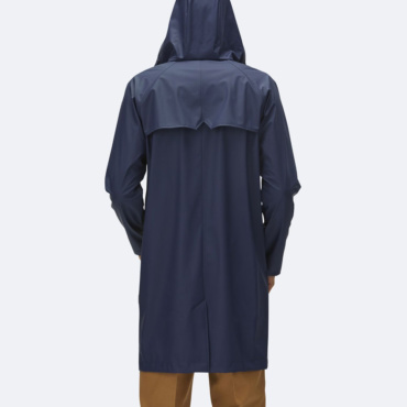 rains coat blue