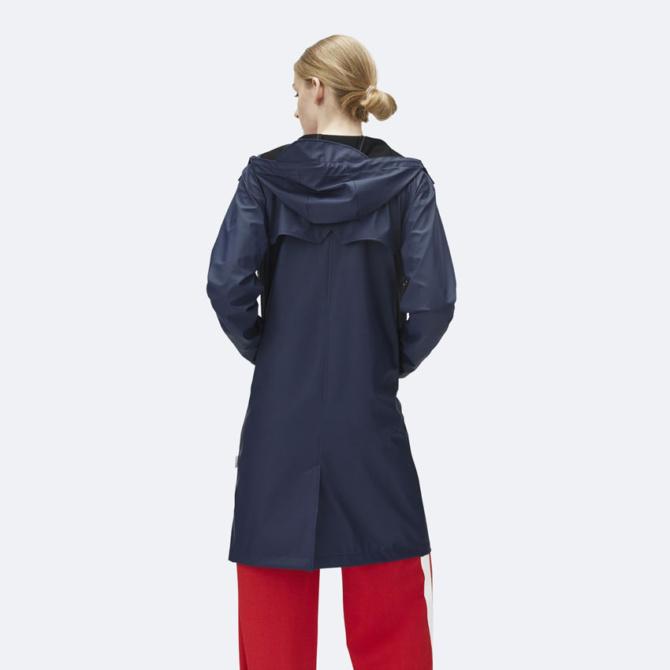 rains coat blue