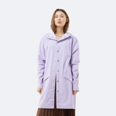 rains long jacket levander