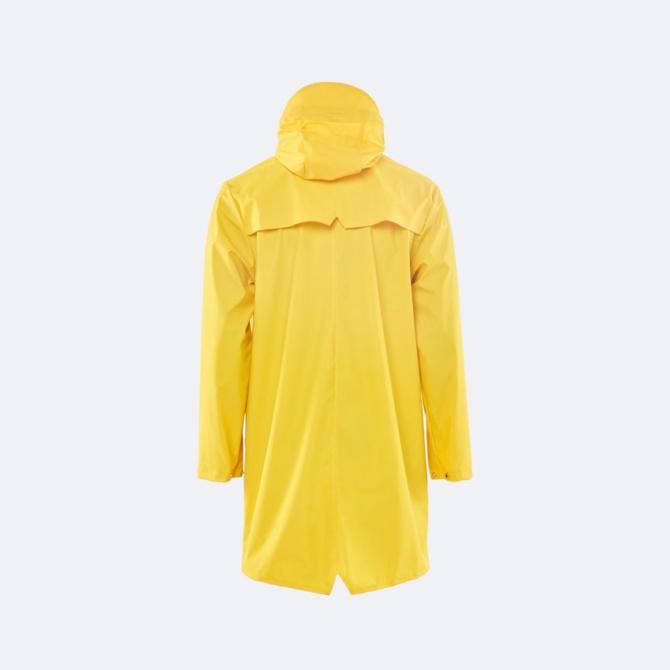 rains long jacket yellow
