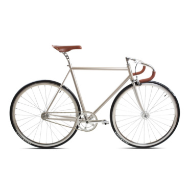 brick lane bikes city classic fixie & single speed champagne