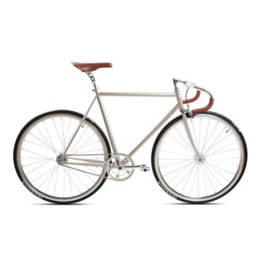 brick lane bikes city classic fixie & single speed champagne