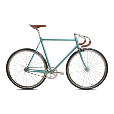brick lane bikes city classic fixie & single speed derby green