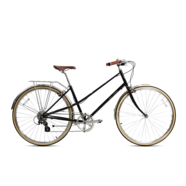 brick lane bikes lola 8 speed ladies bike black
