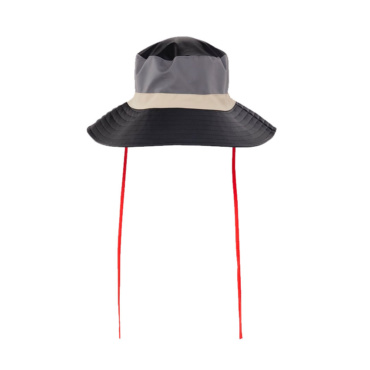rains color block boonie hat black charcoal