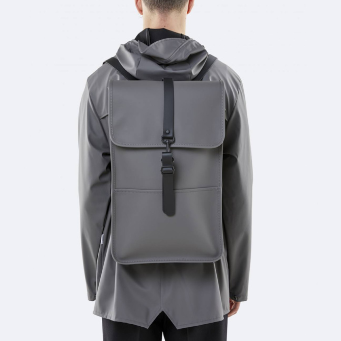 rains backpack charcoal