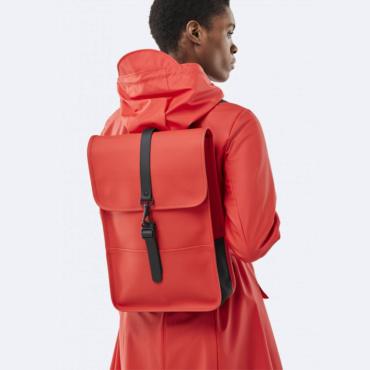 rains backpack mini red