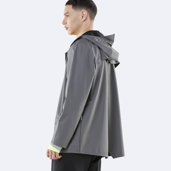rains jacket charcoal