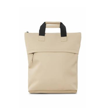 rains tote backpack beige