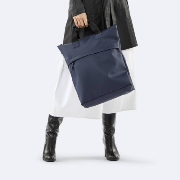 rains tote backpack blue