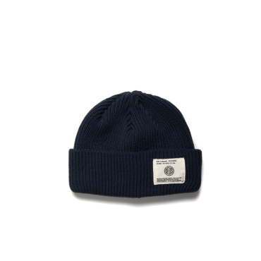 deus delta beanie midnight blue