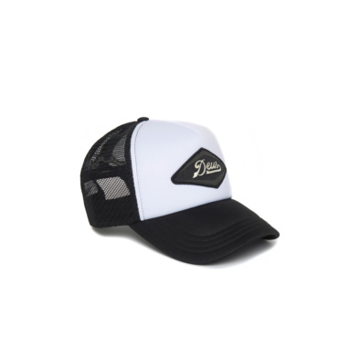 deus diamond trucker black white