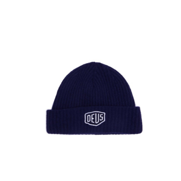 deus shield beanie navy