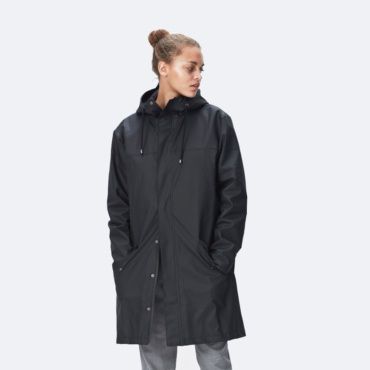 rains alpine jacket black