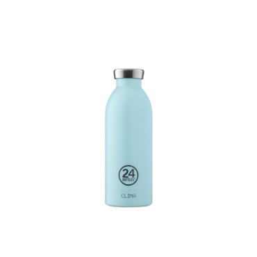 24 bottles clima bottle 500ml cloud blue