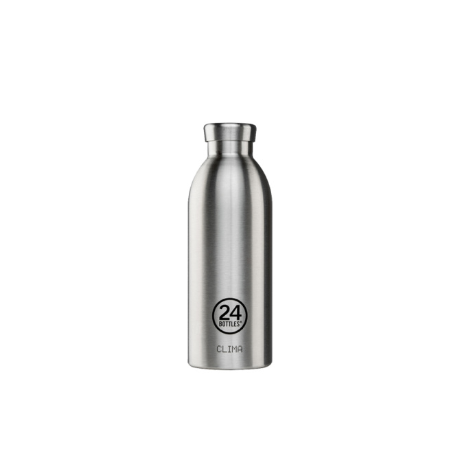 24 bottles clima bottle 500ml steel