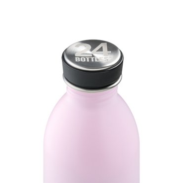 24 bottles urban bottle 500ml candy pink