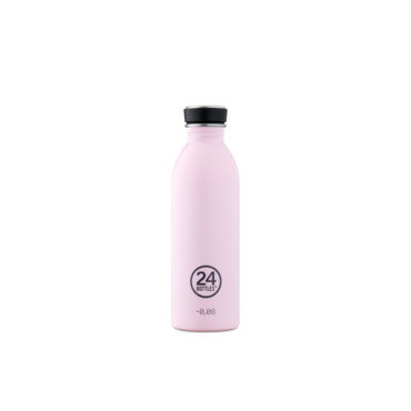 24 bottles urban bottle 500ml candy pink
