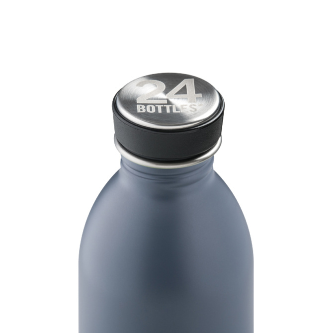 24 bottles urban bottle 500ml formal grey