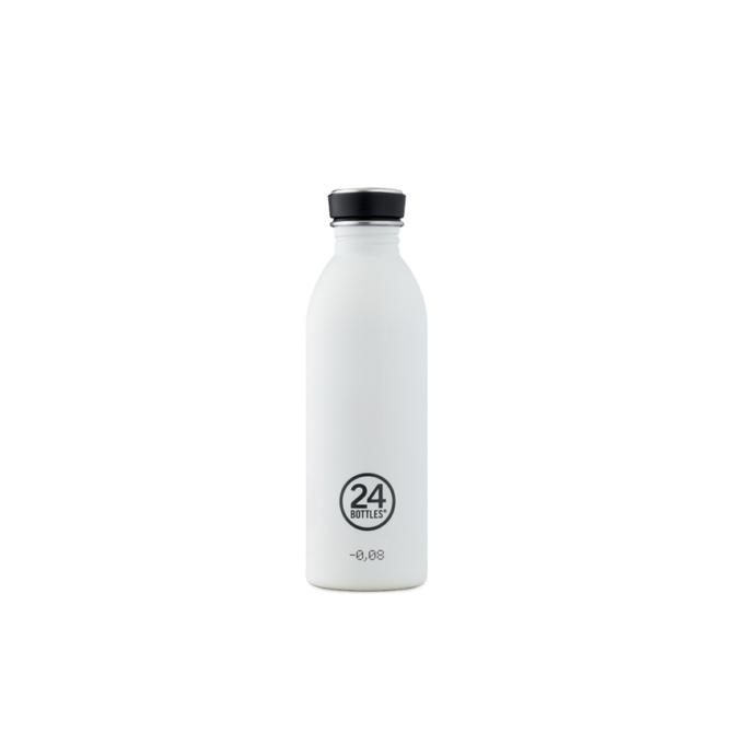 24 bottles urban bottle 500ml ice white