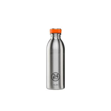 24 bottles urban bottle 500ml steel