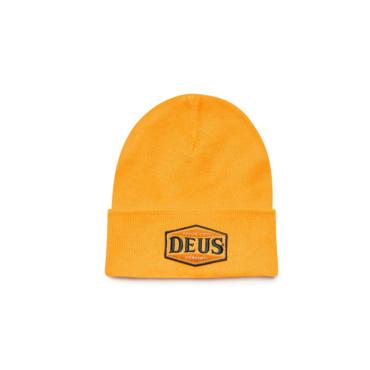 deus service beanie butterscotch yellow