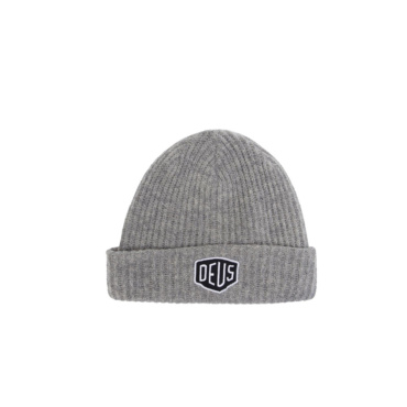 deus shield beanie charcoal