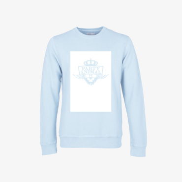 party animal signature sweatshirt polar blue