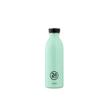 24 bottles urban bottle 500ml aqua green