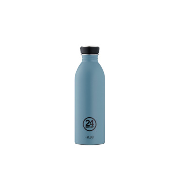 24 bottles urban bottle 500ml powder blue