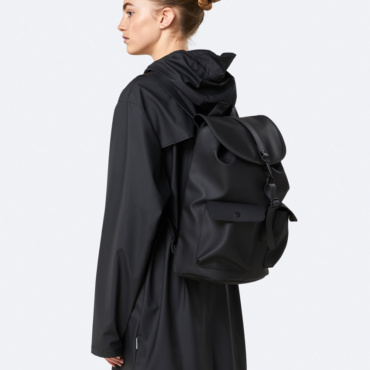 rains camp backpack black