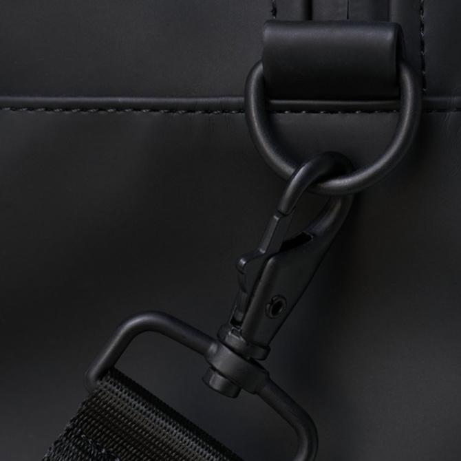 rains gym bag black